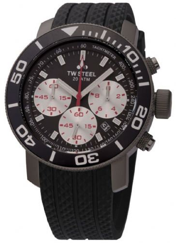 TW STEEL Grandeur Diver Titanium Chronograph Gents Watch TW704